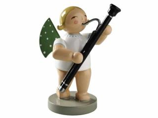 Angel with bassoon