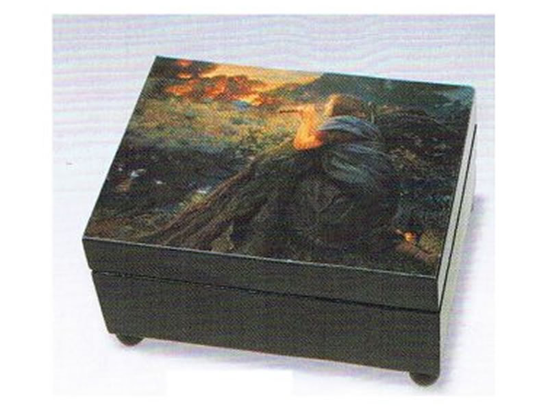 Wooden music box Twilight Time